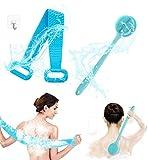 Wuudi Ensemble de brosses de bain pour le dos, brosse de douche, brosses de...