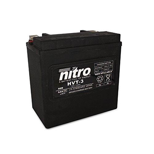 NITRO HVT 03 -N- Batteries, Schwarz (Preis inkl. EUR 7,50 Pfand)