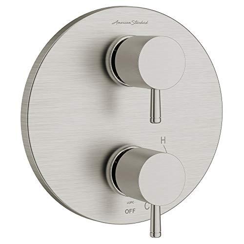 American Standard TU064740.295 Serin 2-Handle Integrated Shower Diverter Trim Only, Brushed Nickel