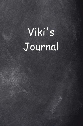 Viki Personalized Name Journal Custom Name Gift Idea Viki: (Notebook, Diary, Blank Book) (Name Personalized Journals Notebooks Diaries)