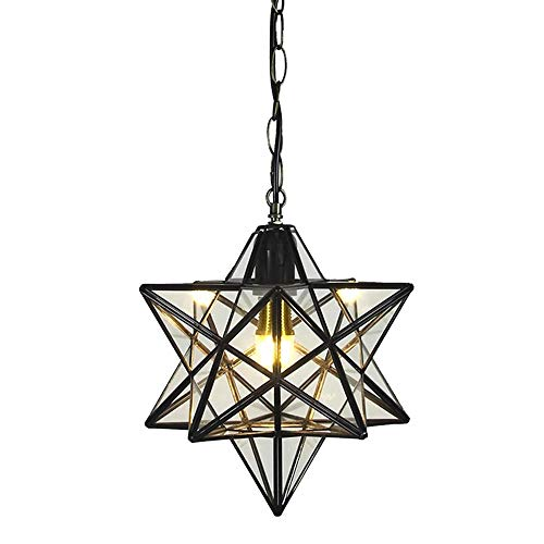 12 inch Moravian Star Pendant Light Ceiling Hanging Drop...