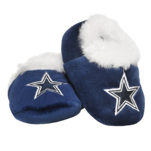 Dallas Cowboys Logo Baby Bootie Slipper Medium