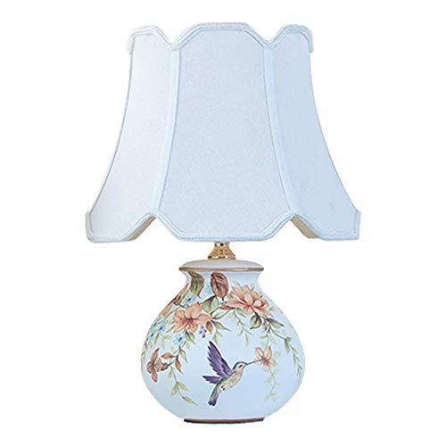 Pintado a mano Mesita de luz de la lámpara de cerámica del dormitorio lámpara de mesa lámpara de cabecera -Estilo Sala de estar Estudio lámpara de mesa tres modos de conmutar varios estilos disponible
