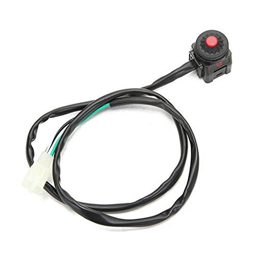 Interruptor de emergencia para manillar de 22 mm para motocicleta y quad, de Ungfu Mall