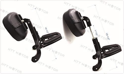 Multiusos ajustable conductor pasajero respaldo accesorio de para Touring Softail