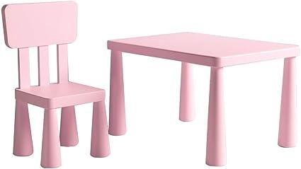 Palacios y otros complementos en rosa. decoraciones con Princesas Conjunto de asientos roba Corona Conjunto de muebles infantiles compuesto por dos sillas y una mesa de juegos