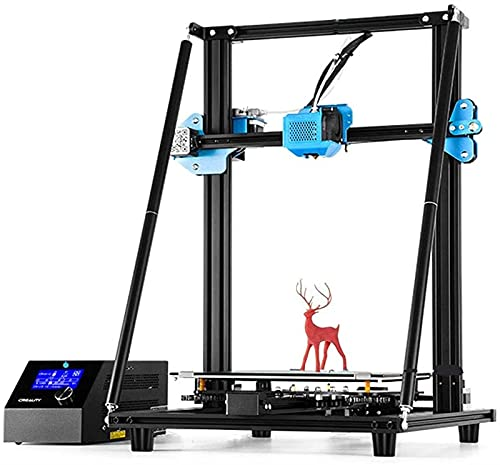 Macro 3D Printer With Silent Mother Board, Extrude - Power Supply Resume Printing - DIY Expansion, Hobbyists And Home School, Gift,Black