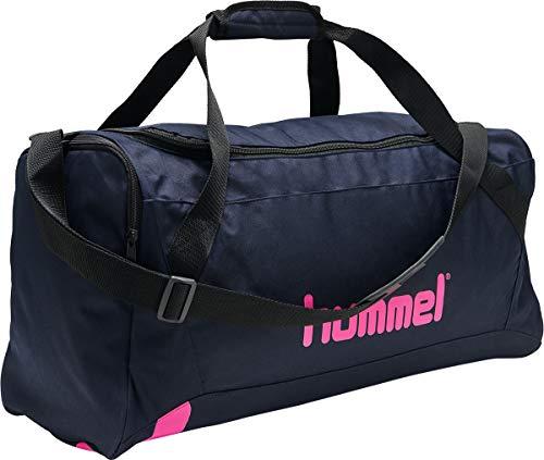 Hummel hmlACTION Sports Bag Marine/Diva PINK - M