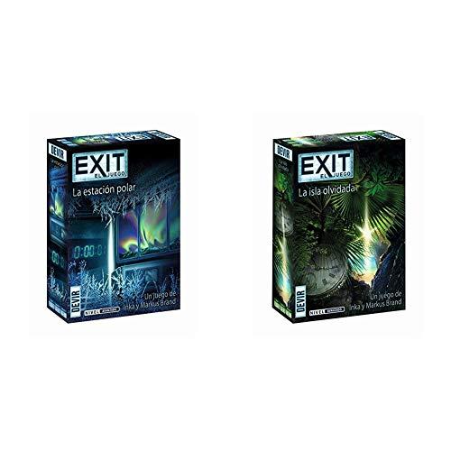 Devir - Exit: La estación Polar, Ed. Español (BGEXIT6) + Exit: La Isla olvidada, Ed. Español (BGEXIT5) , Color/Modelo Surtido