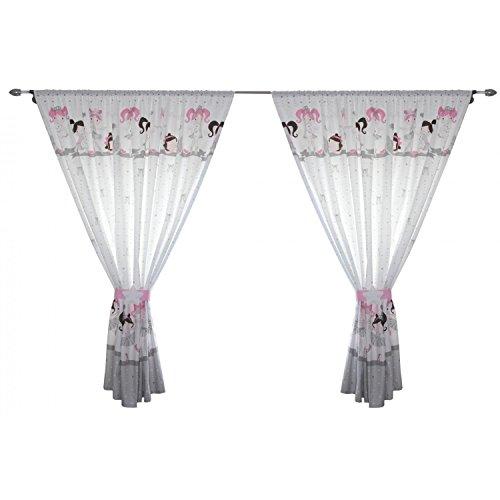 cortinas habitacion niña bailarina