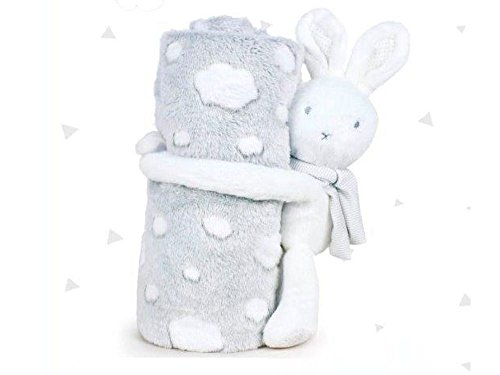 PLAY BY PLAY Peluche manta Little Bunny Baby soft 26cm