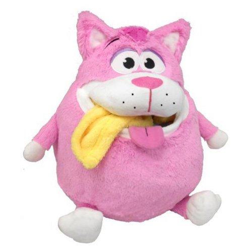 Snuggle Pets - Tummy Stuffers - Chat Rose - Peluche Range-Tout 32 cm (Import Royaume-Uni)