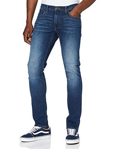 Lee Luke Medium Stretch Jeans, Azul (Dark Diamond Ft), 31W / 30L para Hombre