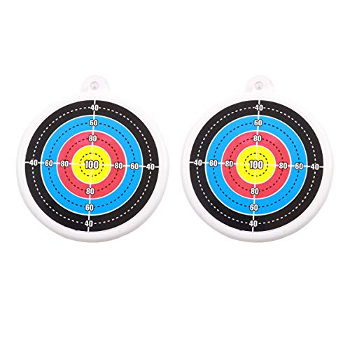 2 piezas Niños Tiro con Arco de Objetivo, Flechas Disparadas Objetivo para Tiro con Arco de Deporte al Aire Libre