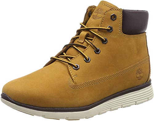 Timberland Unisex-Kinder Killington Klassische Stiefel, Beige (Wheat Nubuck 231), 34 EU