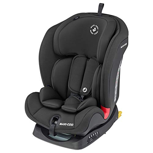 Maxi-Cosi Titan Siège Auto Groupe 1/2/3, ISOFIX, Siège Auto Evolutif et Inclinable, de 9 mois à 12 ans, 9 à 36kg, Basic Black
