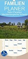 Natur-Paradies Mecklenburgische Schweiz - Familienplaner hoch (Wandkalender 2022 , 21 cm x 45 cm, hoch): Natur-Paradies Mecklenburgische Schweiz (Monatskalender, 14 Seiten )