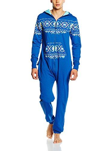 Zipups Mono-Pijama Azul L