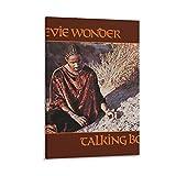 LKJIU Wonders Album Cover - Talking Book Canvas Poster