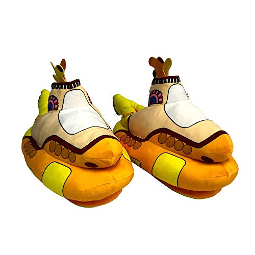 Factory Entertainment The Beatles Yellow Submarine Slippers