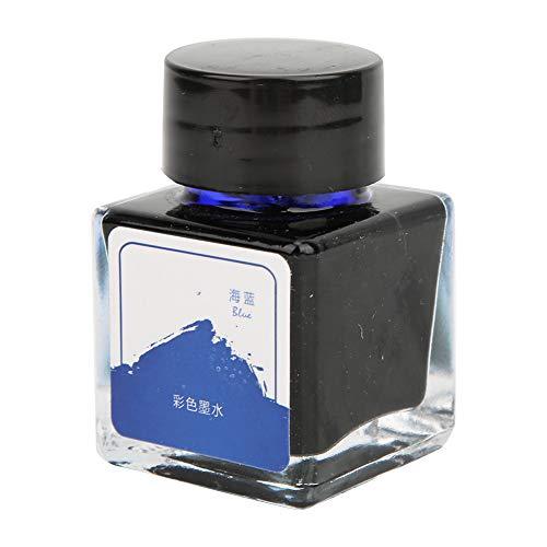 Pen Refill Bottle Ink 12(Ocean blue 20ml)