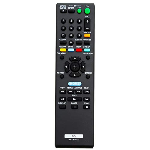 New Replaced RMT-B107A Remote Control sub RMT-B118A RMT-B119A fit for Sony 3D BD Blu-ray DVD Player