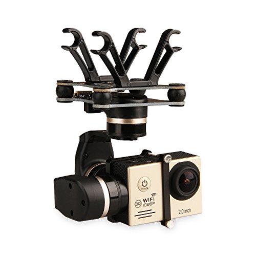 FeiYu - Soporte de drone para cámara deportiva, color negro