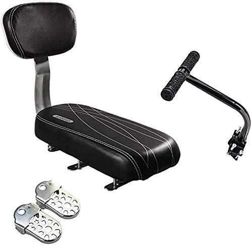 Ausla - Cuscino per sedile posteriore di bicicletta, bicicletta, posteriore, per schienale, bracciolo, accessorio per bambini, donna, uomo e bambino