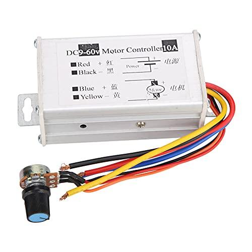 Controlador de velocidad del motor de CC, módulo de controles del controlador del motor del cepillo CC 9V-60V 12V 24V 36V 48V 60V Regulador del modulador de ancho de pulso del motor