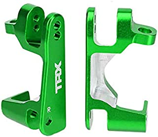 Traxxas 6832G Green Aluminum Caster Block Set (2) (1/10 4x4 Models & XO-1)
