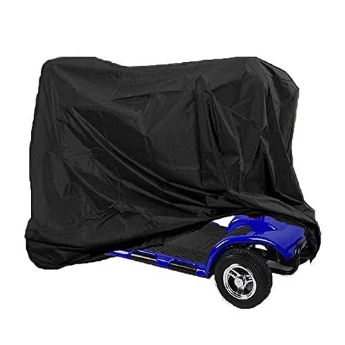 Cubierta De Motocicleta Resistente Al Agua para Todo Clima para Bicicletas Eléctricas Cubierta Protectora De Motocicleta Cubierta De Cuatro Ruedas 190T