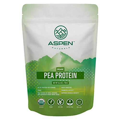 Aspen Naturals Organic Pea Protein