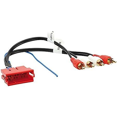 Tomzz Audio 7500 009 Iso Stecker Gehäuse Line Out 10 Elektronik