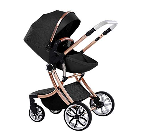 Affordable LZGBH Baby Stroller Two-Way Fashion 2-in-1 Stroller Newborn Baby Child Stroller Foldable ...