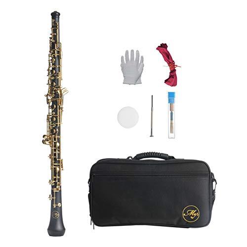 #N/a Clarinete ABS 17 llave bB plano Soprano Clarinete con paño de limpieza guantes 10 cañas destornillador caja instrumento de viento de madera