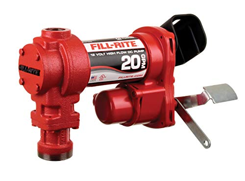 Fill-Rite FR4204H 12V 20 GPM Fuel Transfer Pump (Pump Only)