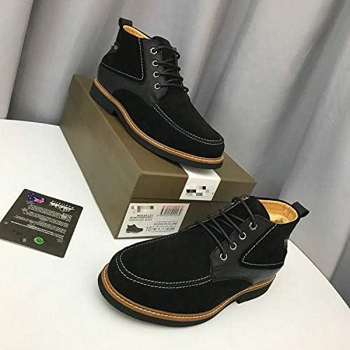 LOVDRAM Bottes Homme Nouveau Hiver Nouvelles Bottes De Neige Occasionnels De La Mode des Hommes avec des Chaussures des Hommes Chaussures De Coton