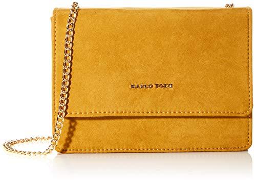 MARCO TOZZI Damen 2-2-61003-23 Clutch, Gelb (Mustard), 5x17x22 cm