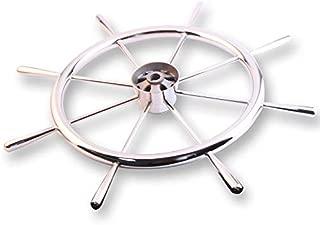 Hoffen Stainless Steel Boat Steering Wheel 8 Spoke 15-3/4