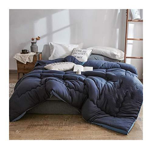 Schleifen Baumwolle Tröster Sommer Winter Quilt Queen Twin-Size-Betteinsatz for Bett (Color, Size : 180X220 3.5kg)