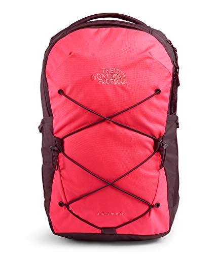 The North Face Damen Jester Rucksack, Paradise Pink/Root Brown, One Size