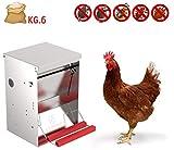 Comedero tolva para aves apertura mecánica Safeed 6k