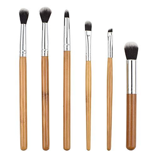 Maquillage Du Visage Pinceau Avec Sac Brosse Utilisation Quotidienne Fibre De Bambou Poignée Eye Shadow Pinceau Contour Brush Set