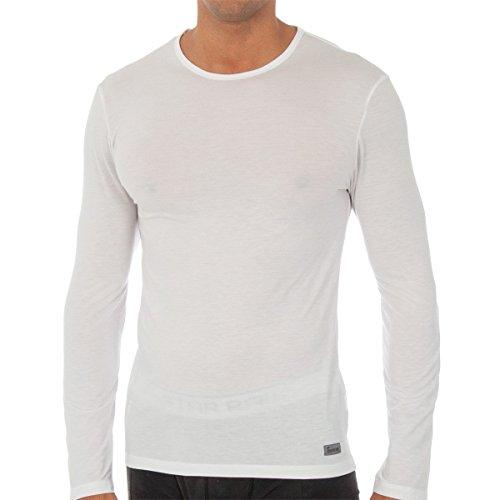 Abanderado Termal Termaltech Camiseta térmica, Blanco (Blanco 001), Large (Tamaño del Fabricante:52) para Hombre
