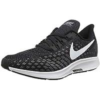 Nike Air Zoom Pegasus 35, Zapatillas de Running para Hombre, Negro (Black/White-Gunsmoke-Oil Grey 001), 45 EU