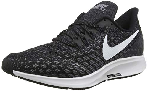 Nike Men's Air Zoom Pegasus 35 Running Shoe, Black/White/Gunsmoke/Oil Grey, 7