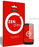 ZenGlass (2 Stück Flexible Glas-Folie kompatibel mit Lenovo Moto Z2 Force Panzerfolie I Bildschirm-Schutzfolie 9H