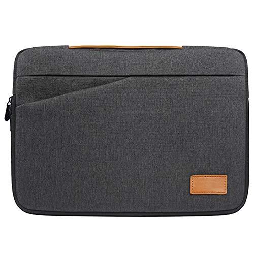 Fransande - Funda universal para ordenador portátil, bolsa de transporte estanca maletín para bolsa de transporte adecuada para Air Pro de 15 pulgadas