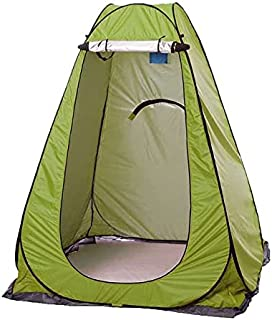 Bärbart campingtält vattentät integritet dusch utomhus toalett skjul UV dressing toalett fågel skådande byta tält med väsk...