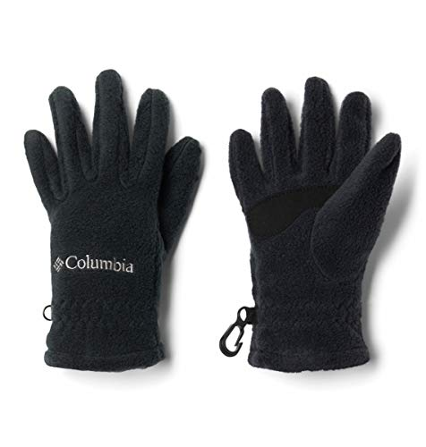 Columbia Kids Fast Trek Glove, Black, Large